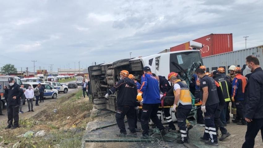 Bursa'daki işçi midibüsü kazasından acı haber geldi