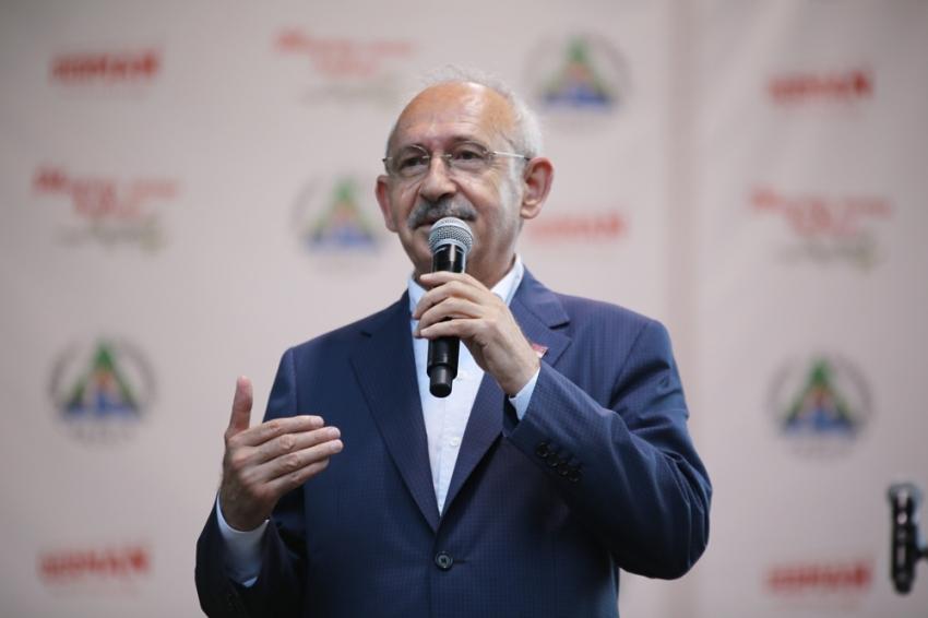 """CHP Lideri Kılıçdaroğlu: """"Muratlı Sınır Kapısı açılmalı"""""""