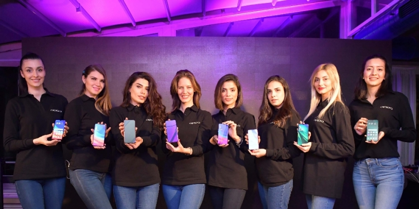 Oppo yeni modelleriyle Türkiye'de