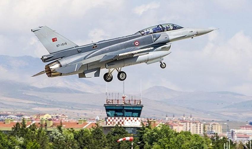 F16'ların motoru ısıya dayanıklı olacak