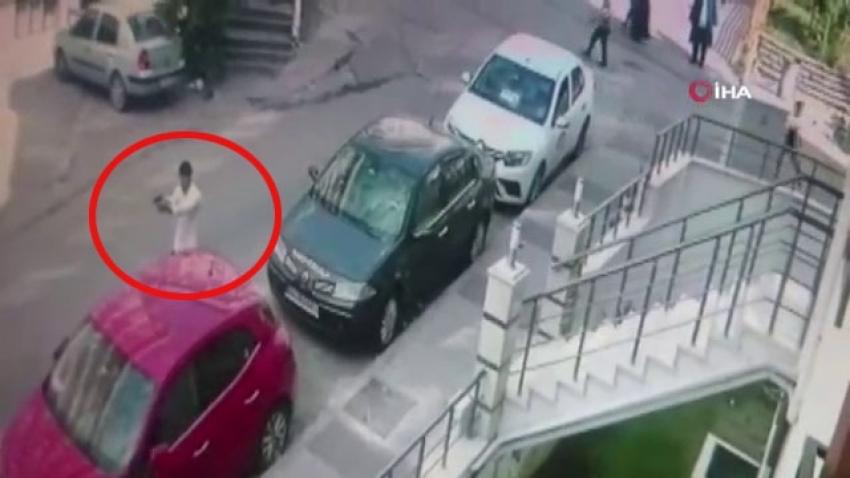 Maltepe'de güpegündüz silahlı çatışma