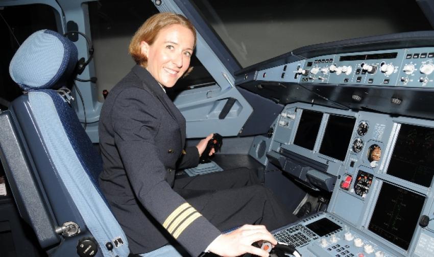 THY'nin Alman pilotu