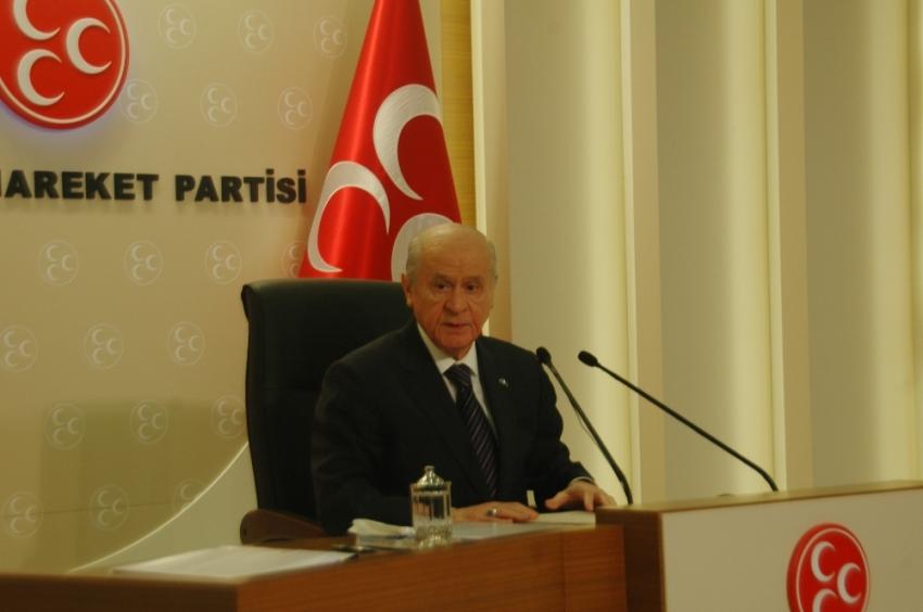 MHP'den hükümete 'destekleriz' mesajı