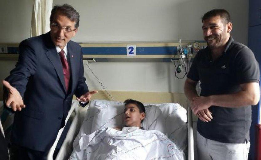 CHP'li milletvekili adayı küçük çocuğu ölümden kurtardı