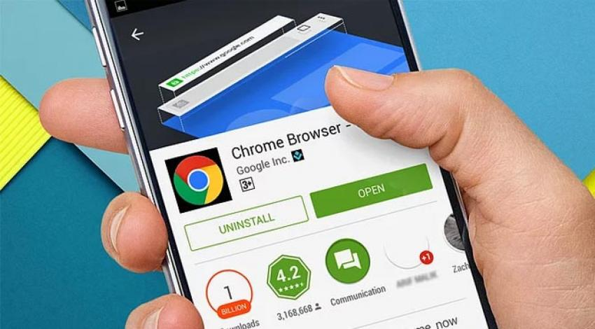 Chrome mobilde 1 milyara ulaştı