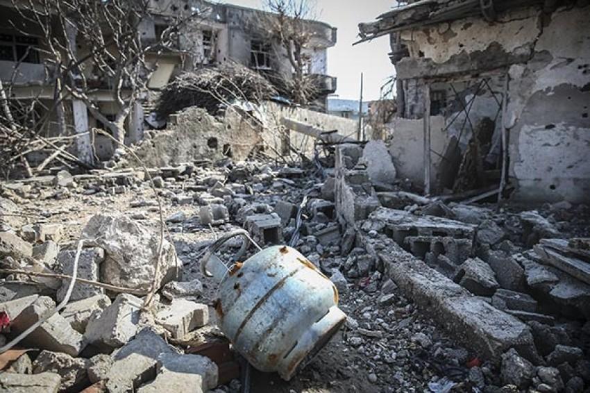 Operasyonların bittiği Cizre'de son durum