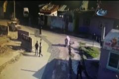 Cinayet anı kamerada
