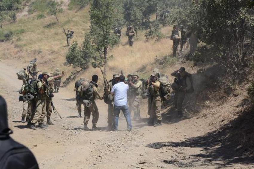 HDP Milletvekili  askerle tartıştı