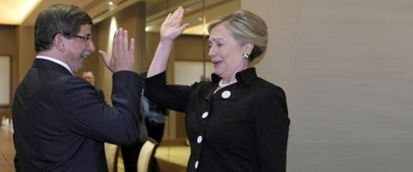 "Clinton, Davutoğlu'nu ""Davu"" diye kısaltmış"