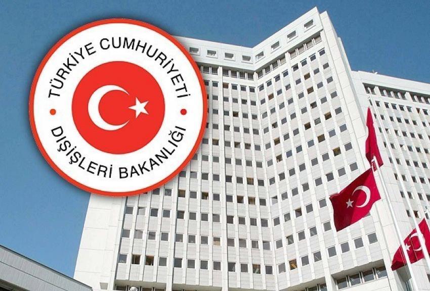 Dışişleri Bakanlığı'ndan Mahinur Özdemir açıklaması
