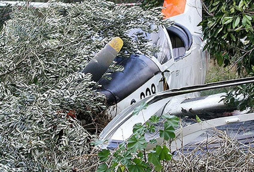 Meksika'da  uçak otoyola düştü: 5 ölü