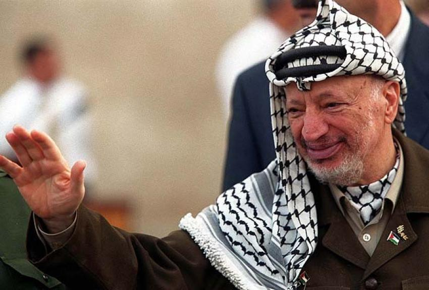 Fransa'da bir sokağa Arafat'ın ismi verildi