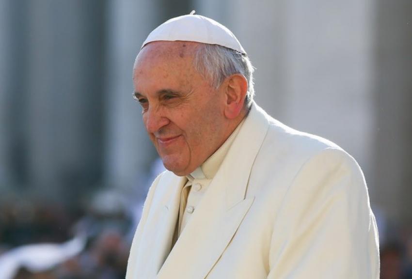 Papa Franciscus Bosna Hersek'e geldi