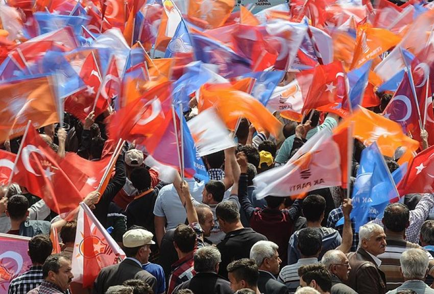 AK Parti dördüncü kez birinci oldu