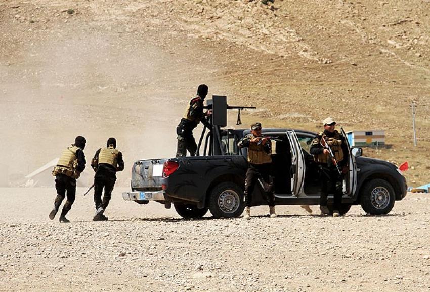 Irak'ta 21 DAEŞ militanı öldürüldü