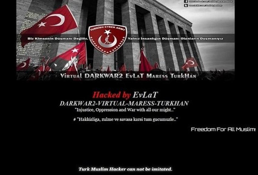 Türk hackerlar Kanada'da 40 siteyi hackledi