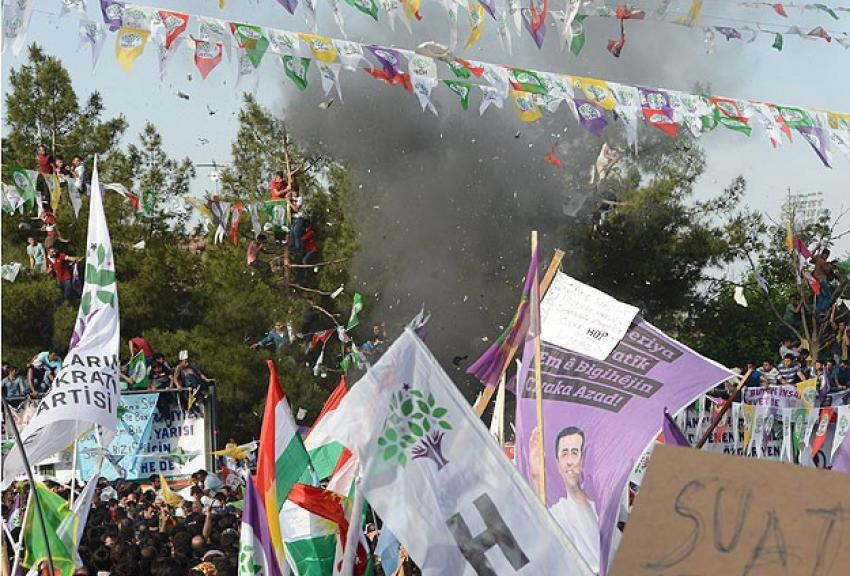 Diyarbakır'da ölü sayısı 3'e yükseldi