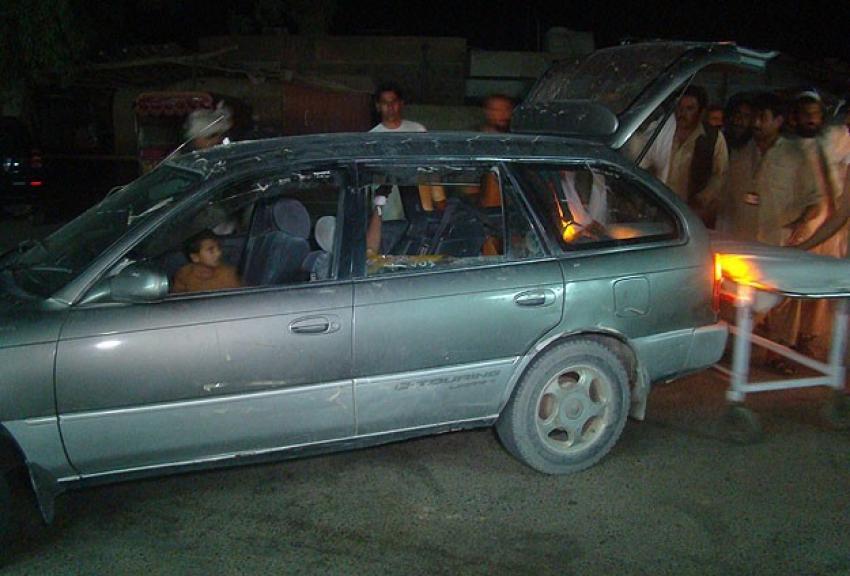 Düğün konvoyuna bombalı saldırı
