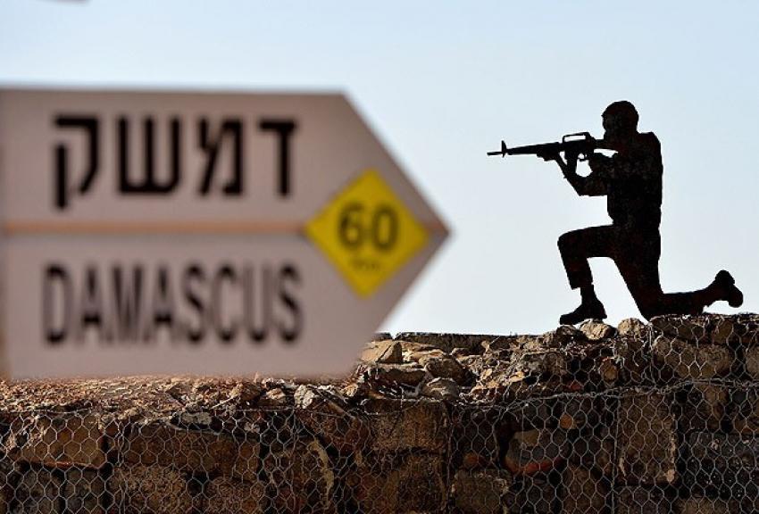 İsrail Golan tepelerini sivillere kapattı