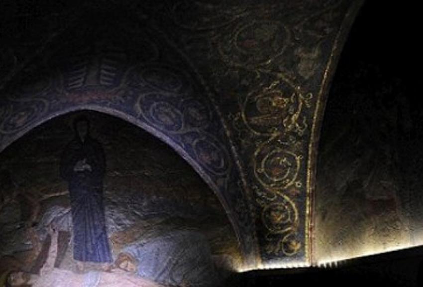 İsrail'de kilise kundaklandı