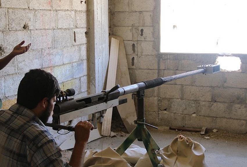Suriyeli muhalifler keskin nişancı tüfeği üretti