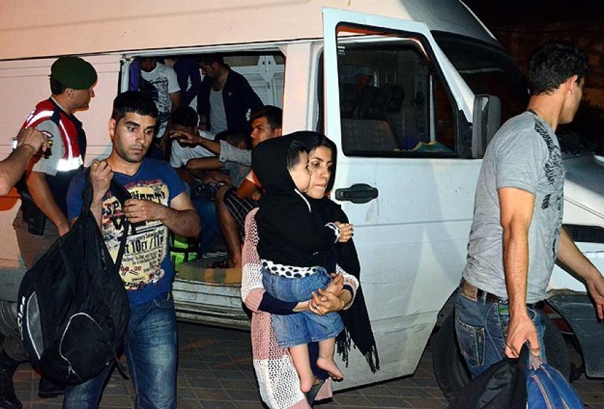 Umuda yolculuk Çanakkale'de sona erdi