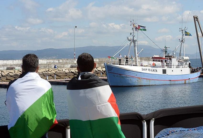 Gazze'ye Özgürlük Filosu yola çıkmaya hazır