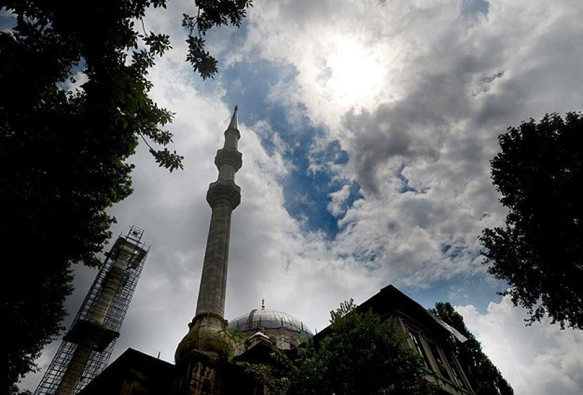 Nusretiye Camisi'nde restorasyon çalışmaları hızlandı