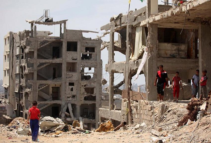 Gazze'nin yeniden imarı için anlaşma