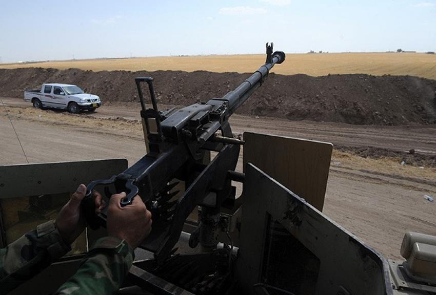 Irak'taki çatışmalarda 15 DAEŞ militanı öldü