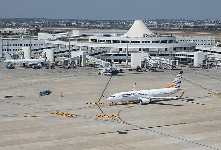 Türkiye'nin en yoğun ikinci havalimanı Antalya'da