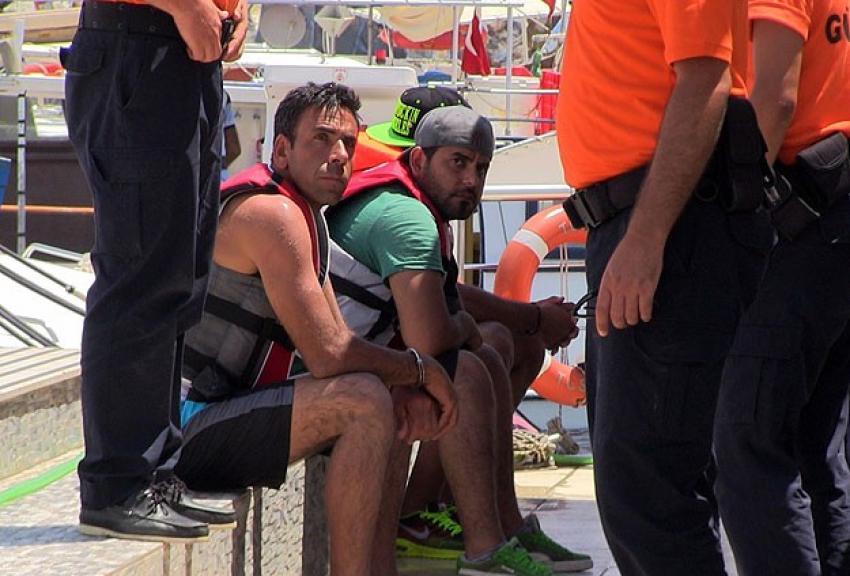 Bodrum'da jet ski ile göçmen kaçakçılığı iddiası