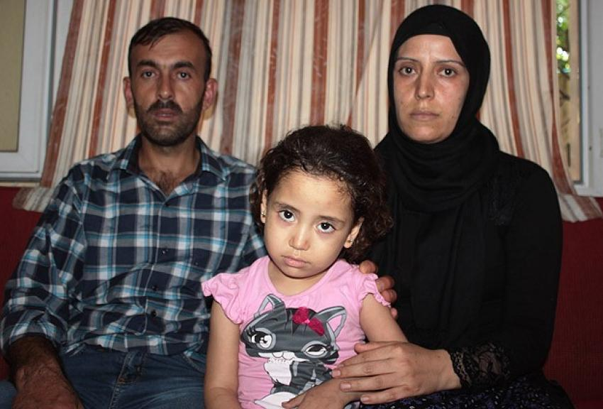 Suriyeli küçük Renim ilik nakli bekliyor