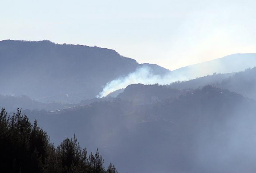 Esad Türkmen köylerini bombaladı