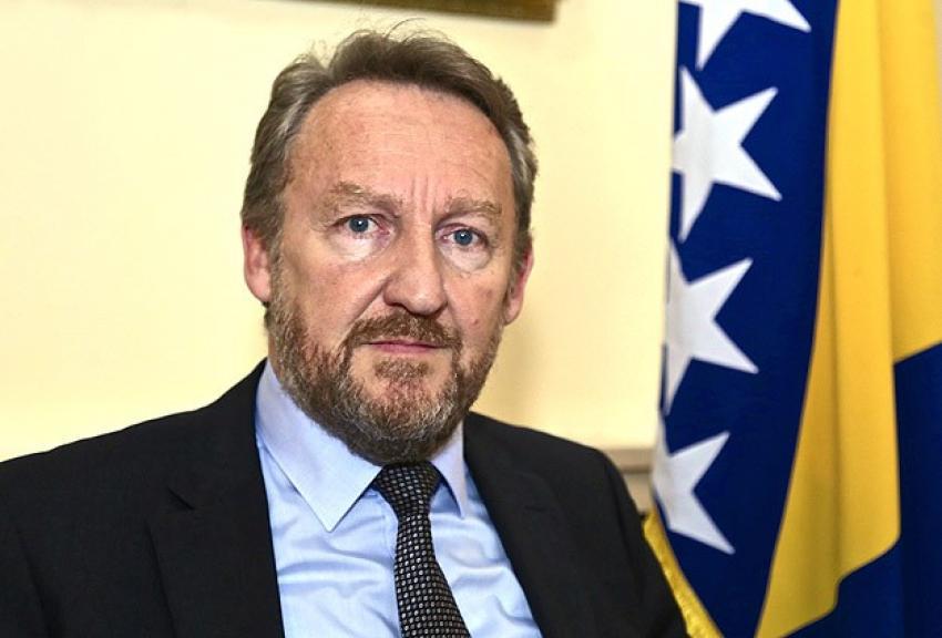 BM'ye Srebrenitsa mesajı
