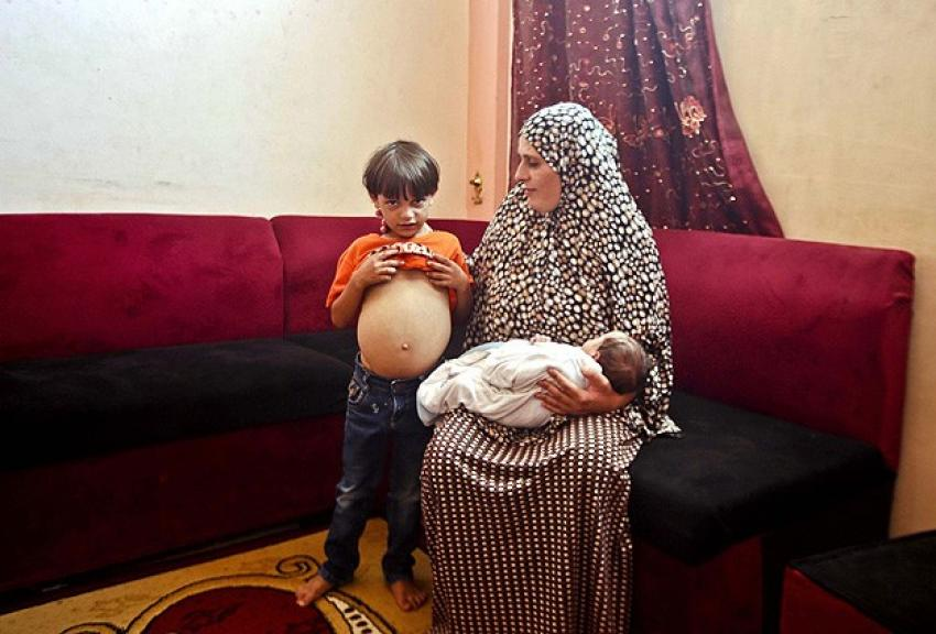 İsrail ablukası 'Gazzelli çocukları vuruyor'