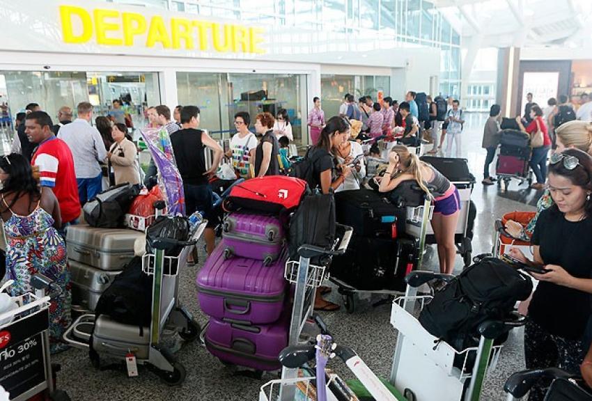 Bali Adası'nda uçak seferleri tekrar iptal edildi