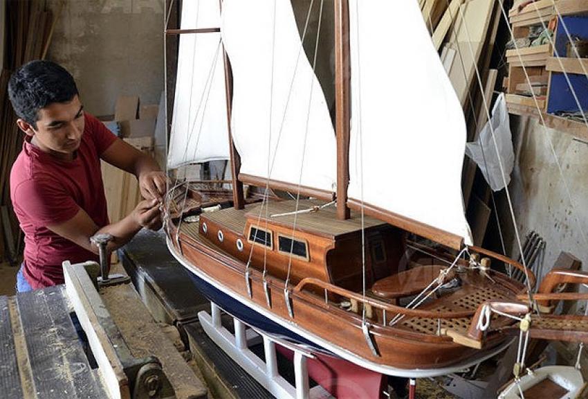 Maket tekneleri 2 bin liraya satıyor
