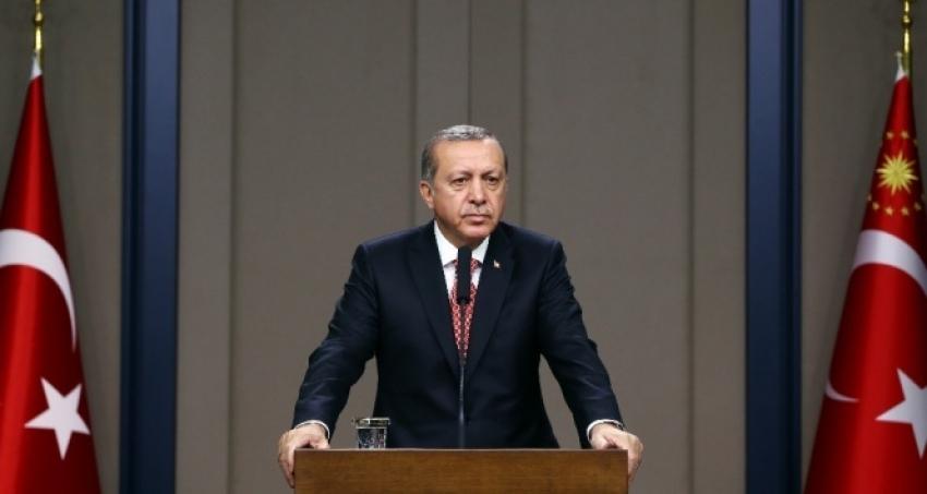 Erdoğan: 'Tartışmalar üzerine değil, barış üzerine bina edin'