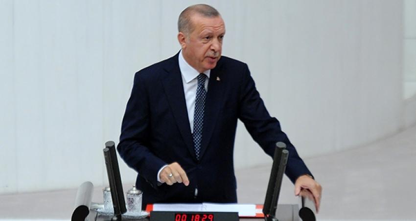 Cumhurbaşkanı Erdoğan, 'Bir gece ansızın gelebiliriz'.