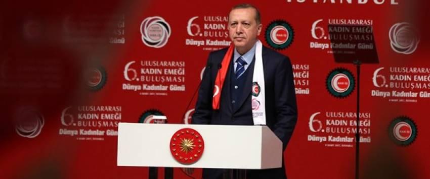 """Erdoğan: """"16 Nisan tezgahı bozma günüdür"""""""