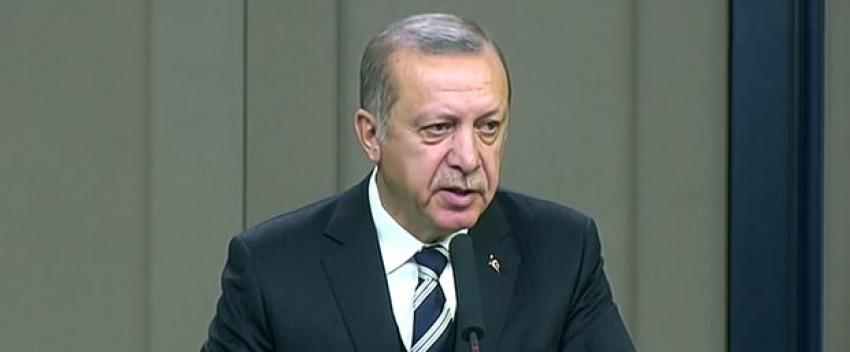 """Erdoğan: """"Ne ABD'ye ne Rusya'ya tehdit var; tehdit bize"""""""