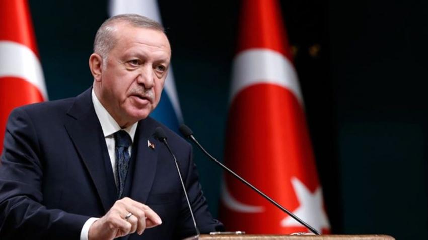 Erdoğan ulusa sesleniş konuşması yapıyor