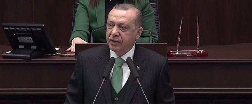 """Erdoğan: """"Kıbrıs'ta ve Ege'de haddini aşanları ikaz ediyoruz"""""""