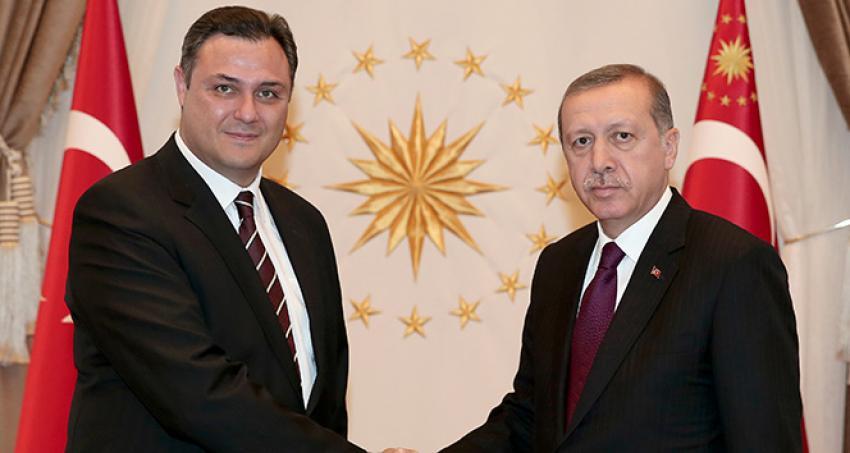Erdoğan, TÜBİTAK Başkanı Ergin'i kabul etti