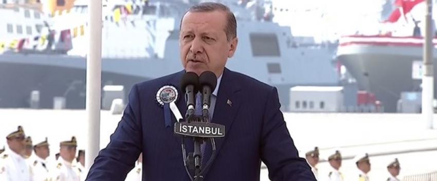 """Erdoğan: """"Uçak gemisi hayal olmaktan çıktı"""""""