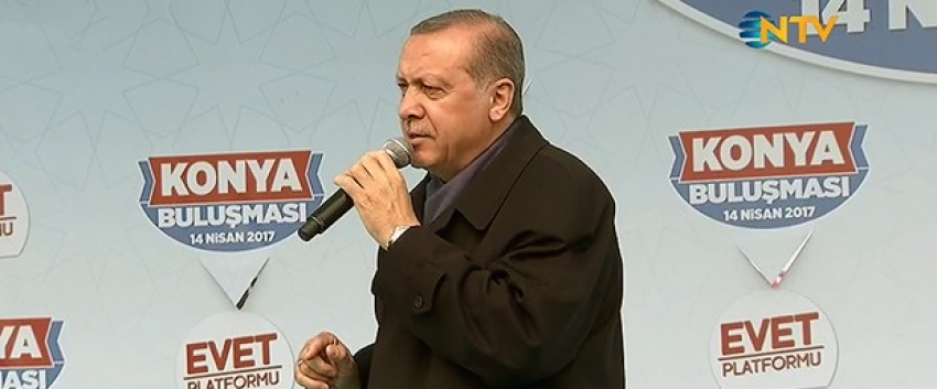 """Erdoğan'dan """"üniter yapı"""" açıklaması"""