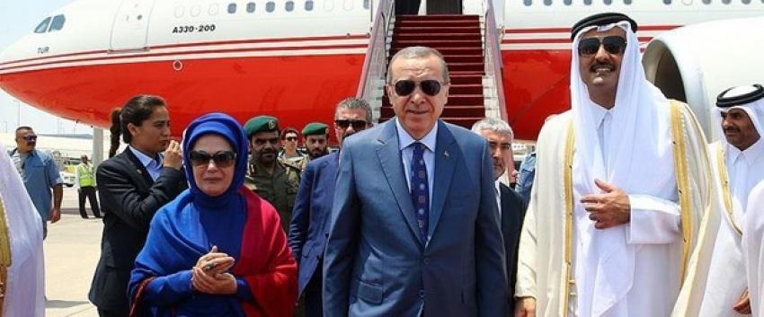 Erdoğan'ın Körfez ziyaretine ilişkin açıklama