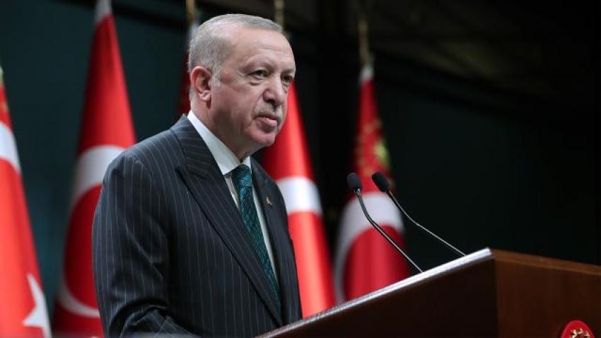 Cumhurbaşkanı Erdoğan'dan virüs açıklaması