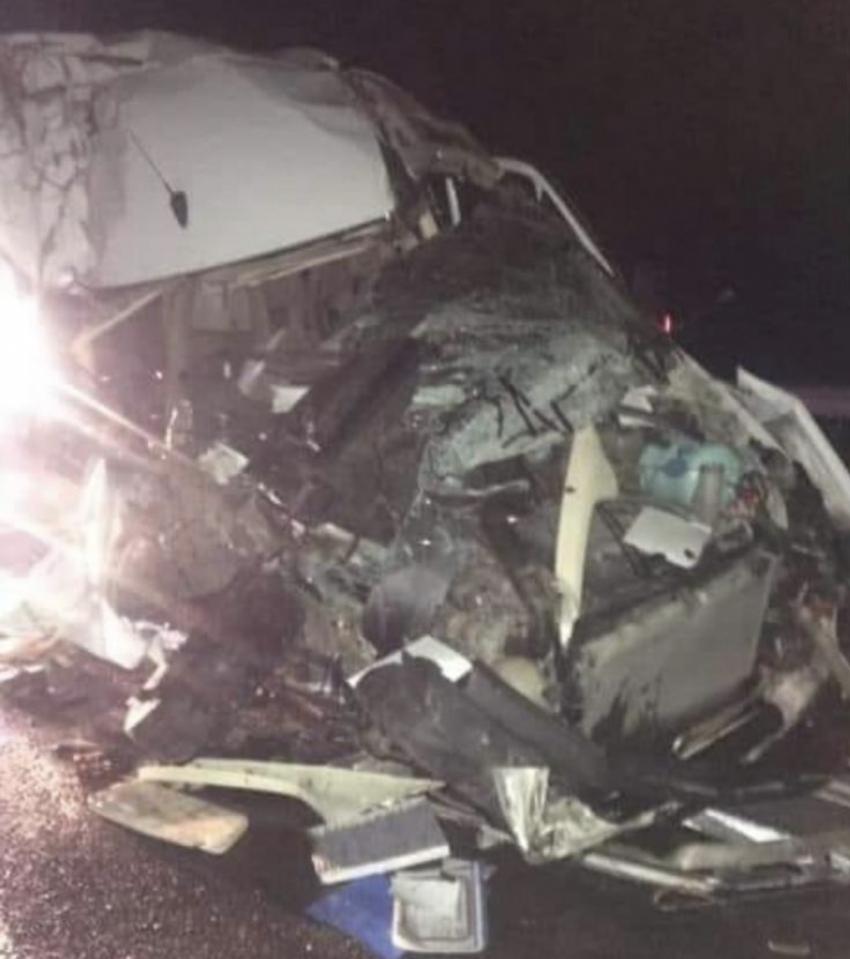 Bursasporlu taraftarlar kaza geçirdi!